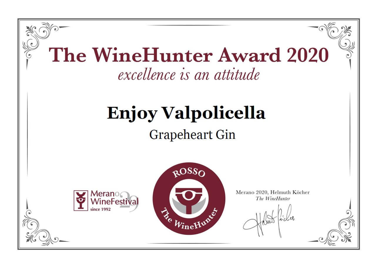 The WineHunter Award 2020, la excellence award of Meran Wine Festival