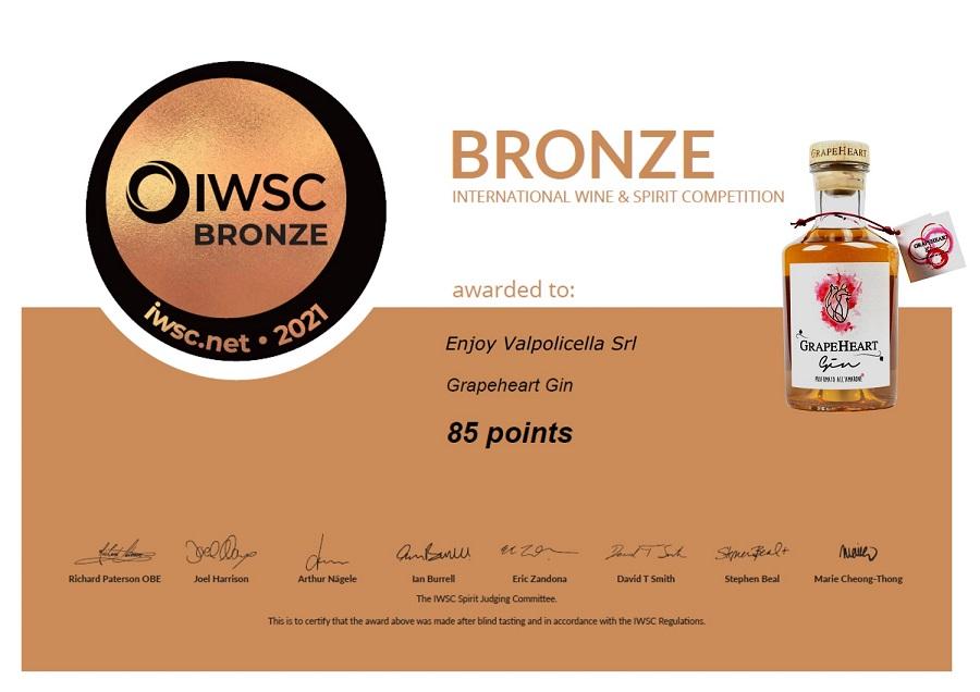 International Wine & Spirit Competition è il più prestigioso contest internazionale di spirits.